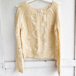 Gypsy 05 | Distressed Sweater